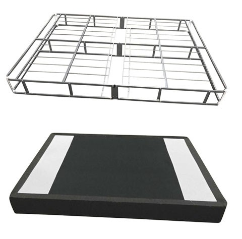 7 Inch Easy Open Boxspring - White - Queen Foundation