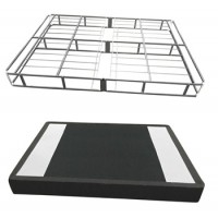 7 Inch Easy Open Boxspring - White - California King Foundation