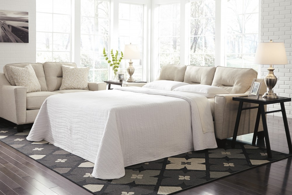 Forsan Nuvella - Sand - Queen Sofa Sleeper