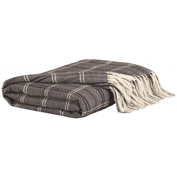 Luis - Black/Beige - Throw