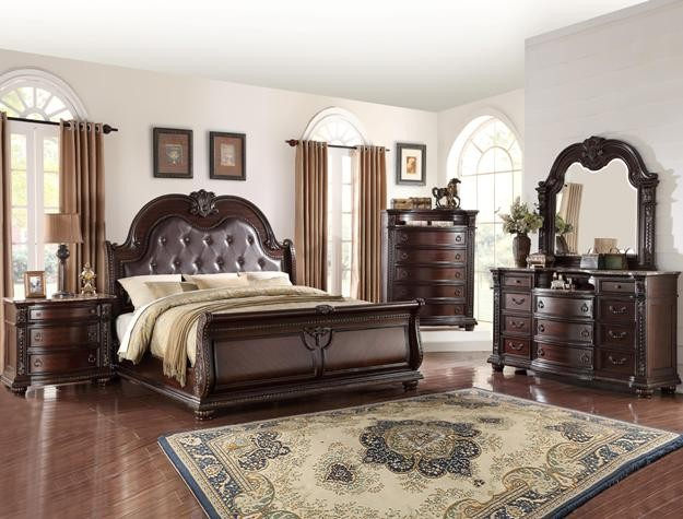 Crown Mark B1600 Stanley Queen Bedroom Suite B1600 Bedroom