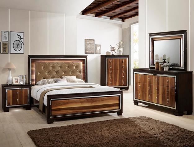 Crown Mark Farrow Queen Bedroom Group: Crown Mark B7700 Kelda Queen Bedroom Group