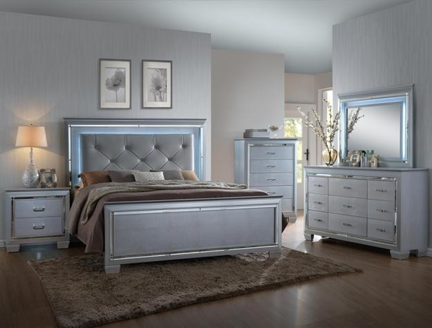 Crown Mark B7100 Lillian Queen Bedroom Suite