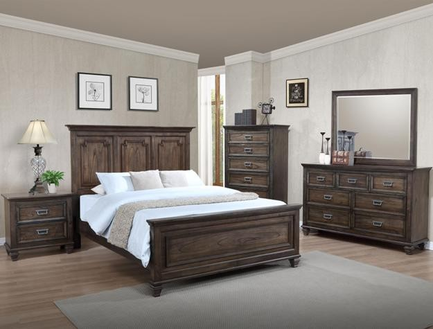 Crown Mark B8250 Campbell Queen Bedroom Suite