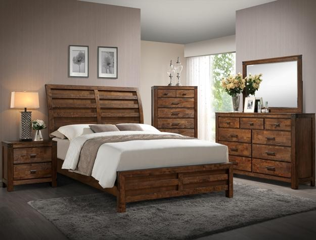 Crown Mark B4800 Curtis Queen Bedroom Suite B4800 Bedroom Groups