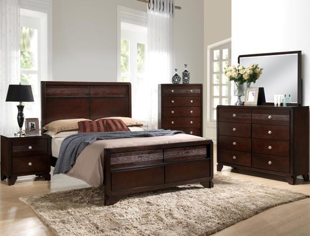 Crown Mark B6850 Tamblin Queen Bedroom Suite
