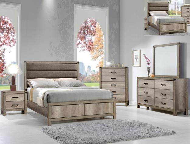 Crown Mark B3200 Matteo Queen Bedroom Suite