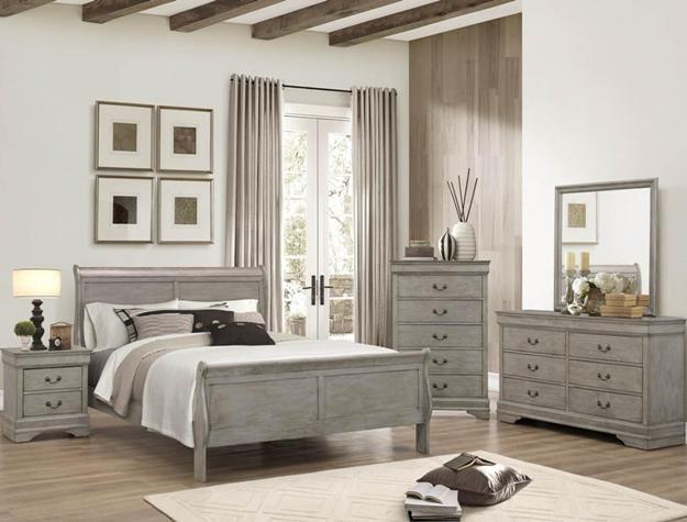Crown Mark Farrow Queen Bedroom Group: Crown Mark B3500 Queen Bedroom Suite