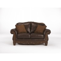 North Shore - Dark Brown - Loveseat