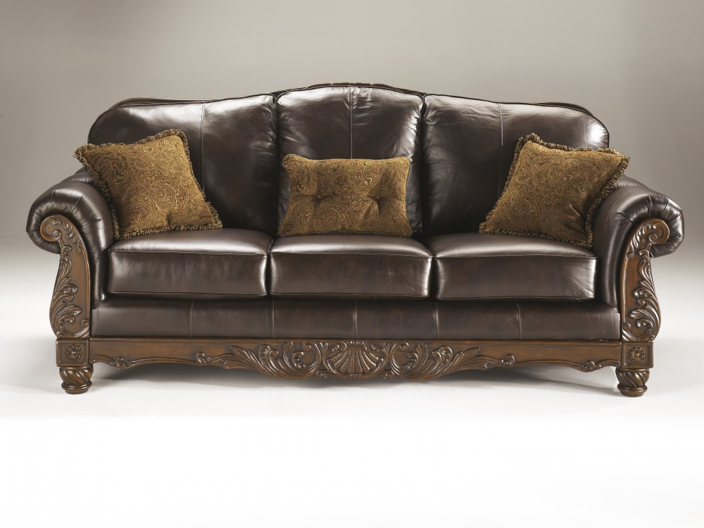 North Shore Dark Brown Sofa 2260338 Leather Sofas Star
