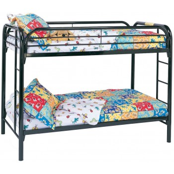 Coaster Metal Twin/Twin Bunk bed