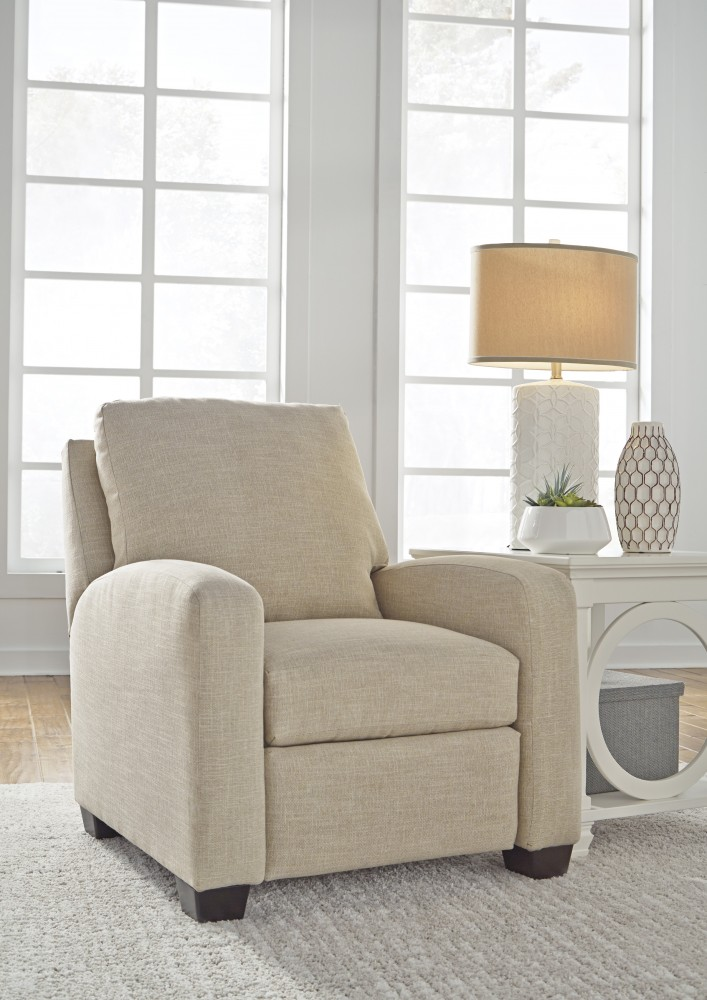 low leg design recliner by ranger canyon signature pin ashley