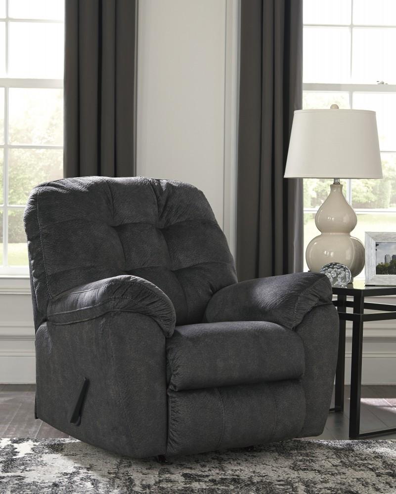 Accrington - Granite - Rocker Recliner | Recliners | Payless Furniture | payless furniture recliners