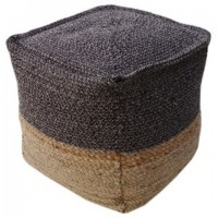 Sweed Valley - Natural/Black - Pouf
