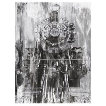 Isaac - Black/White - Wall Decor