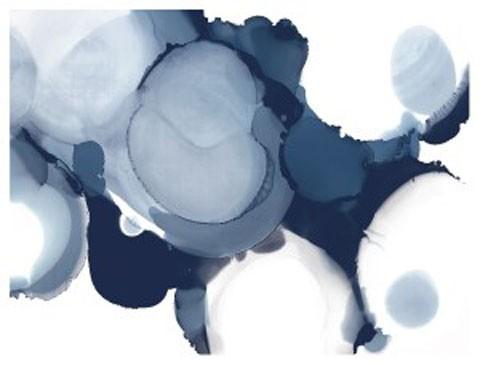 Ariadna - Blue/White - Wall Decor