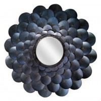 Deunoro - Blue - Accent Mirror
