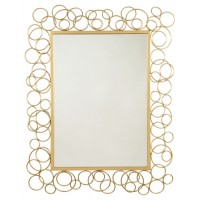 Dhaval - Gold Finish - Accent Mirror
