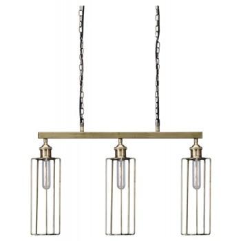 Hilary - Brass Finish - Metal Pendant Light (1/CN)