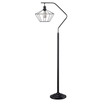 Makeika Black Metal Floor Lamp 1 Cn L207181
