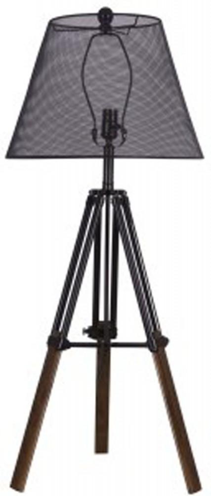Leolyn blackbrown metal table lamp 1cn l207994 lamps leolyn blackbrown metal table lamp 1cn aloadofball Choice Image