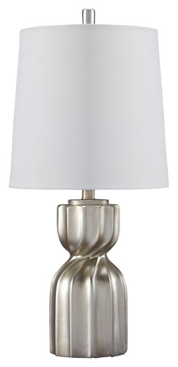 Makalia - Champagne - Poly Table Lamp (1/CN)