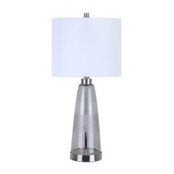 Larrance - Gray - Glass Table Lamp (1/CN)