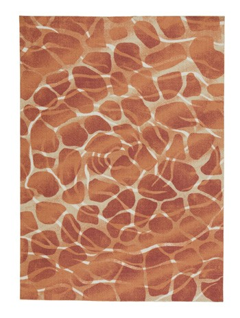 Mauna Red Orange Medium Rug R402352 Rugs Price