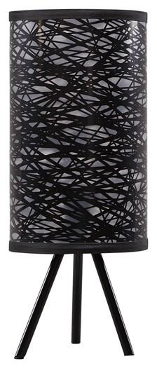 Nettie Black Metal Table Lamp 1 Cn L857734 Lamps