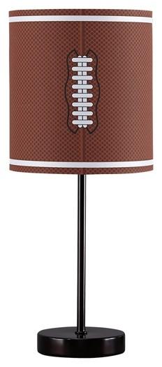 Lamar   Brown/Bronze Finish   Metal Table Lamp (1/CN)