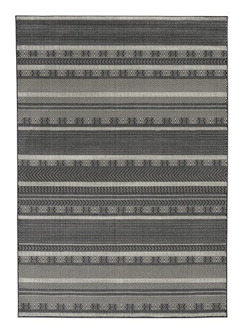 Jeven Black Cream Large Rug R402751 Rugs The Furniture