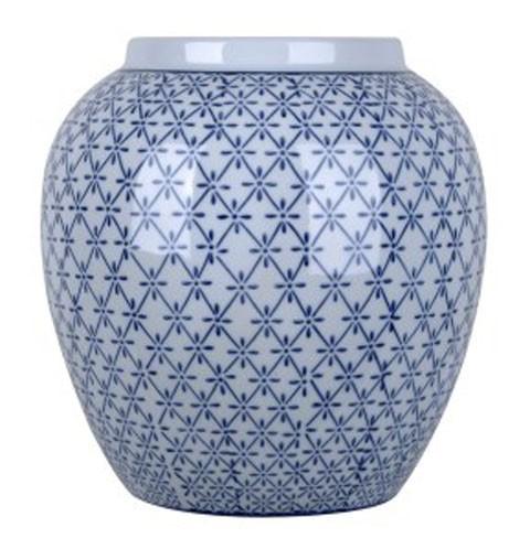 Dionyhsius Bluewhite Vase A2000341 Vases Shapiros