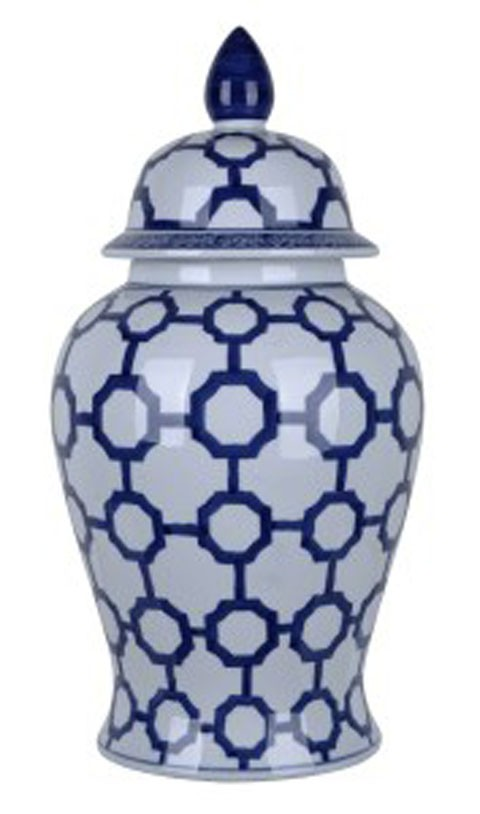 Dionyhsius Bluewhite Jar A2000344 Vases Fowhand Furniture