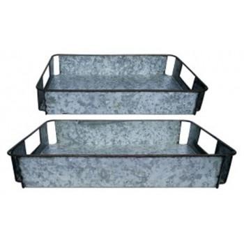 Dido - Gray/Black - Tray Set (2/CN)