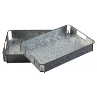Dido - Gray/Black - Tray Set (2/CN)