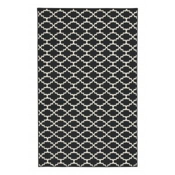 Nathanael - Black/Cream - Medium Rug
