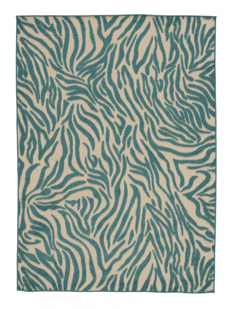 Japheth - Turquoise - Medium Rug
