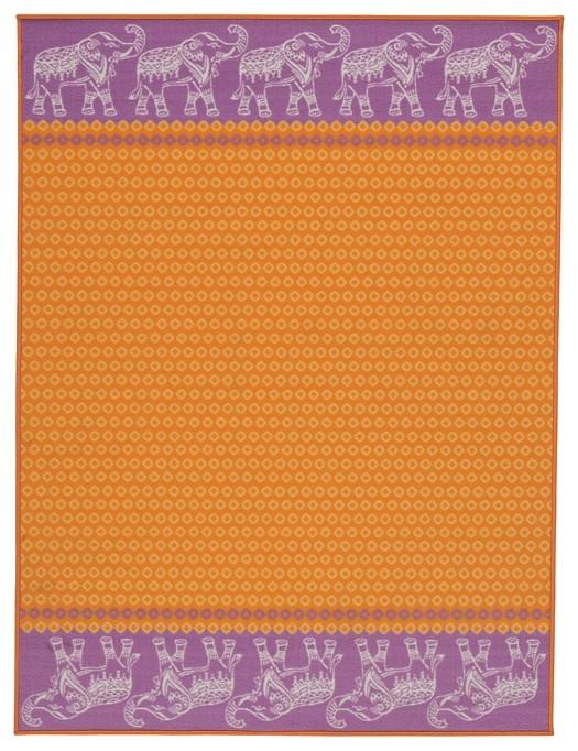 Maximus - Orange - Medium Rug