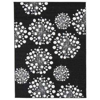 Jaliyah - Black/White - Medium Rug