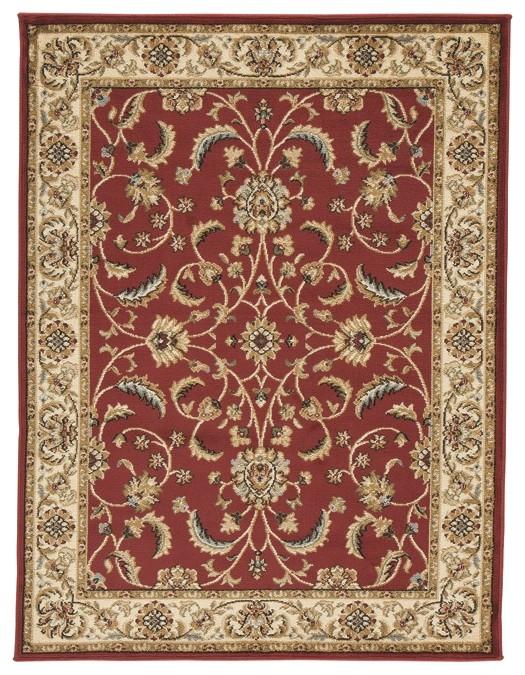 Jamirah Red Brown Large Rug R403021 Rugs B M Furniture