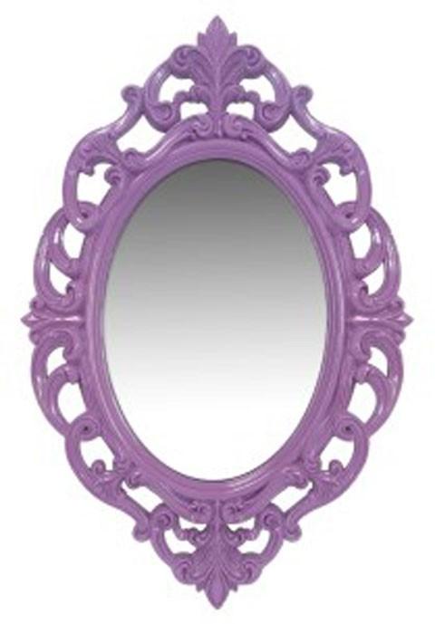 Diza - Purple - Accent Mirror   A8010102   Mirrors   Plourde ...