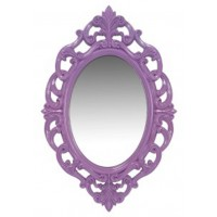 Diza - Purple - Accent Mirror
