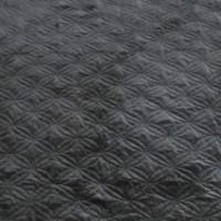 Linette - Black - Queen Quilt Set