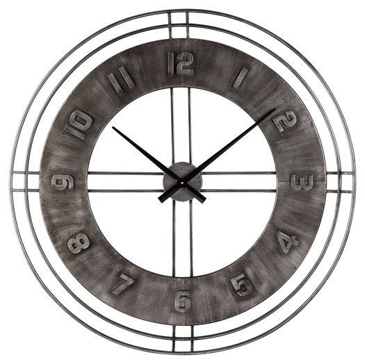 Ana Sofia - Antique Gray - Wall Clock