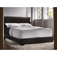 SUPER SALE (Black Or Brown Bonded Leather Queen Bed)