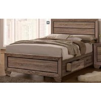 KAUFFMAN COLLECTION  - Kauffman Transitional Washed Taupe California King Bed