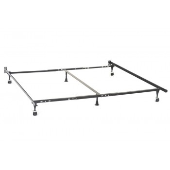 Bed frames metal bed frame for queen eastern king and - Cool queen bed frames ...