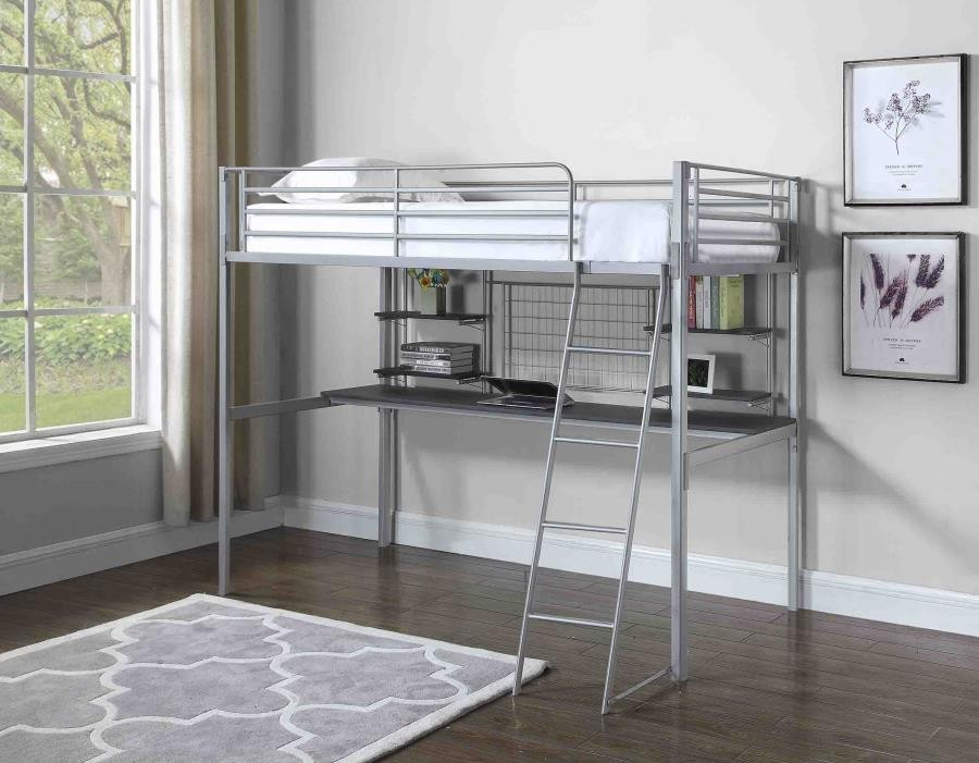 Twin Loft Bunk Bed 460474t Bunk Beds Rent A Vision