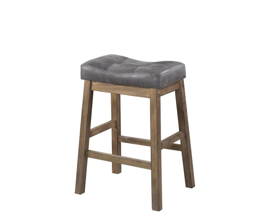 Groovy Rustic Driftwood Backless Counter Height Stool Pack Of 2 Ibusinesslaw Wood Chair Design Ideas Ibusinesslaworg