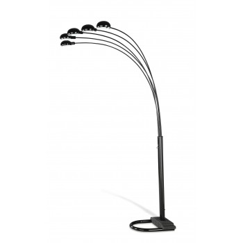 Black Overhead Floor Lamp - 1297A